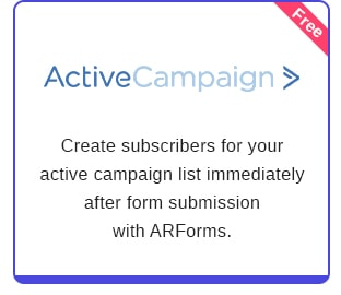 ARForms: WordPress Form Builder Plugin - 29