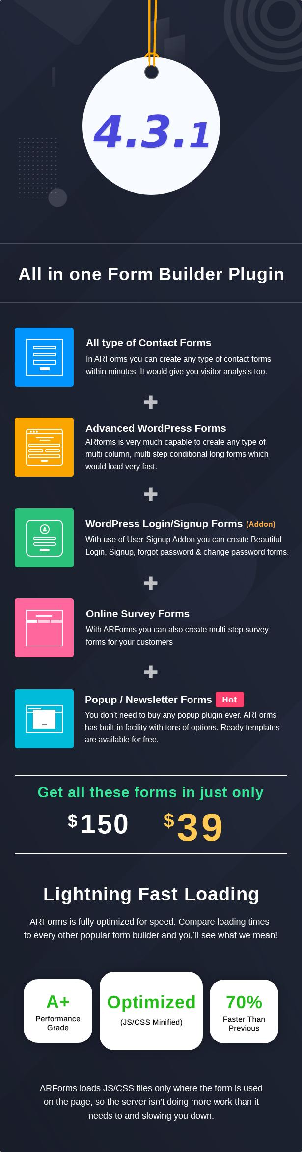 ARForms: Wordpress Form Builder Plugin - 6