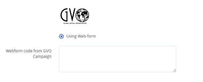 GVO Configuration