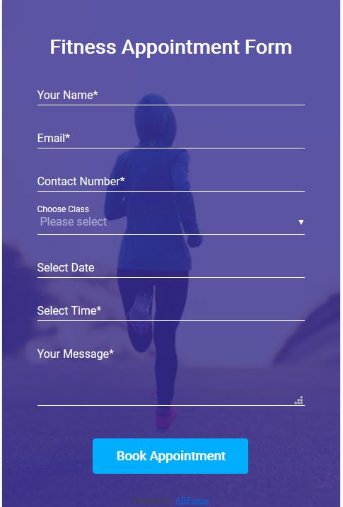 background image resgistration form