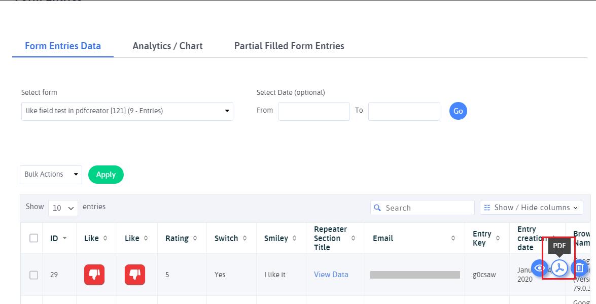 ARFoms PDF Creator Configuration 2