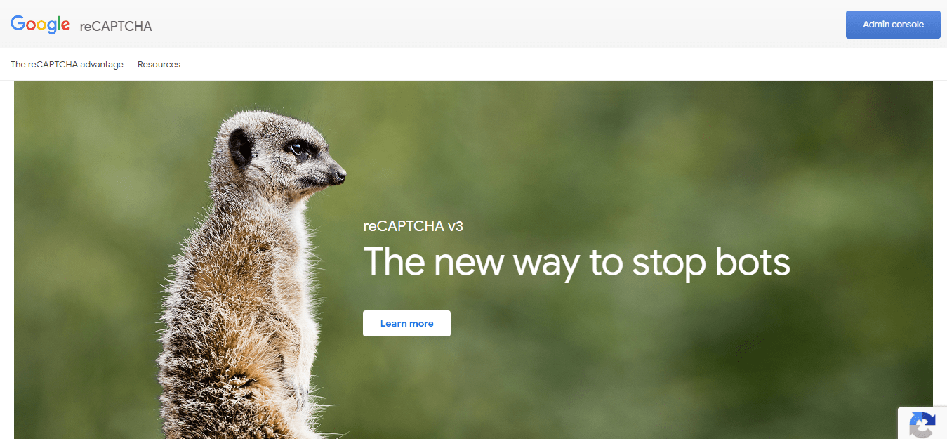 Prevent Contact Form Spam - reCaptcha v3