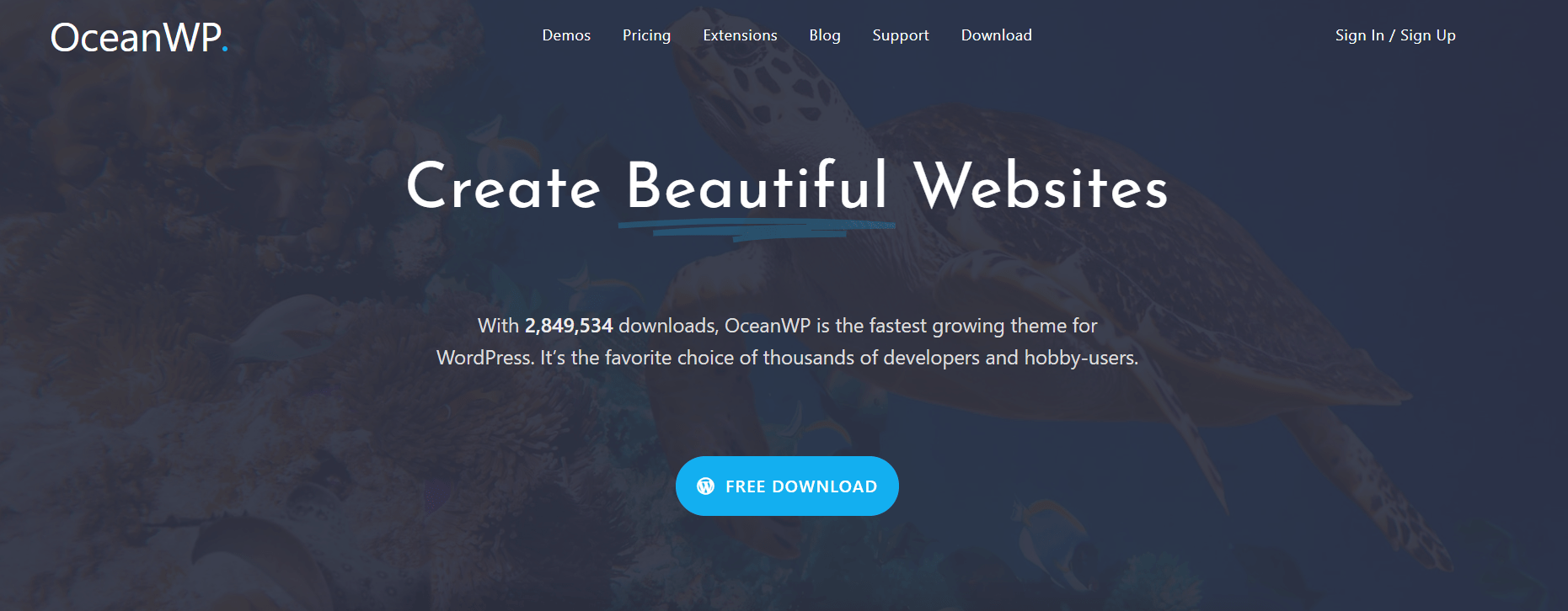 WordPress Multi-purpose themes - OceanWP Theme