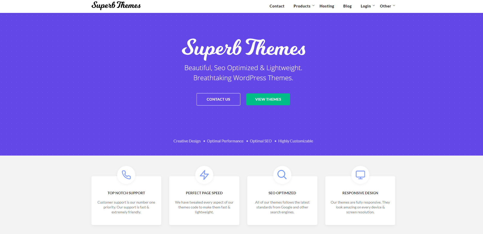 WordPress Multi-purpose themes - Superb Themes