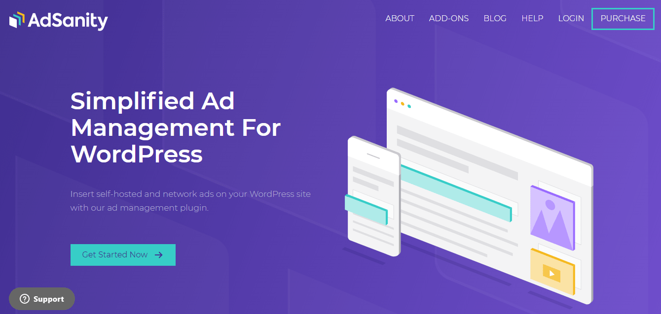 adSanity - WordPress Ad Management Plugins