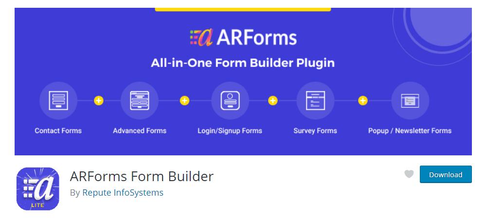ARForms Lite Version download-min