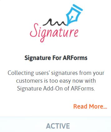 Capture Signatures Online - Signature Form Addon Activate-min