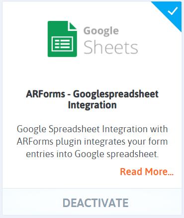 WordPress form entries to Google sheets - Google Sheets Add-On-min